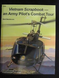 Details about Squadron Book: Vietnam Scrapbook - An Army Pilot's Combat  Tour - 80 pgs, photos