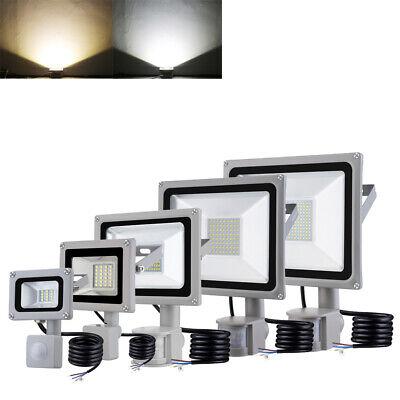 LED Fluter Bewegungsmelder Spot Ultraslim IP65 RGB Aussenbereich 10W-100W
