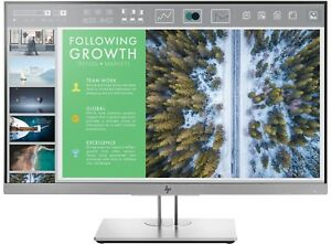 "HP EliteDisplay E243 24"" LED LCD Computer Monitor 5MS FHD 1080P 16:9 HDMI DP IPS"