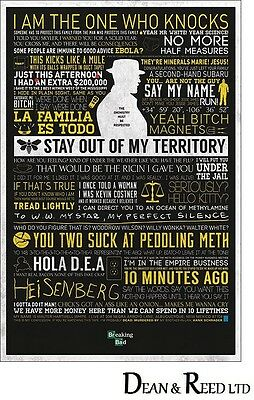 Breaking Bad (Typographic) - Maxi Poster - 61cm x 91.5cm - PP33286 - 517