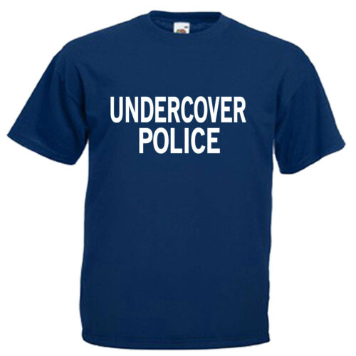 Undercover Police Mens Adults T Shirt
