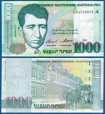 ARMENIEN / ARMENIA 1000 Dram 2001  UNC  P. 50