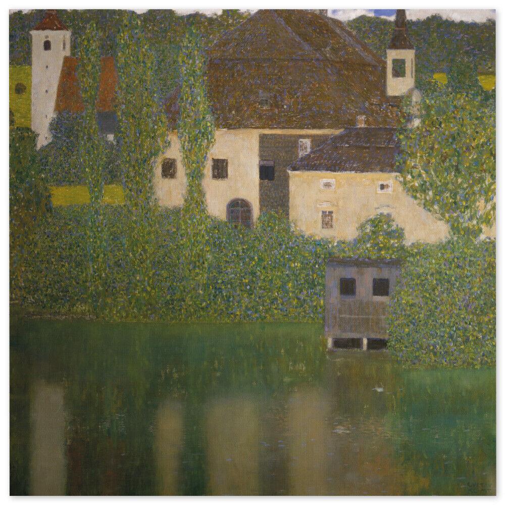 Gustav Klimt, Schloss Kammer am Attersee I, Poster