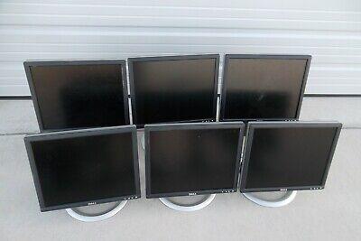"LOT-2 Dell 17/"" LCD Monitor VGA DVI 4-Port USB Hub 1706FPV 1703FP 1704FPt 1705FP"