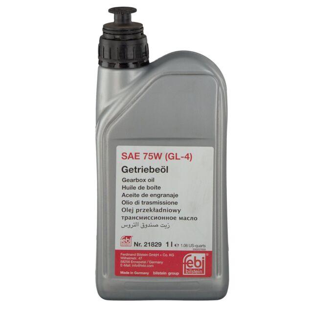 FEBI Manual transmission Fluid - GL4 SAE 75W ( MB 235.10 yellow)