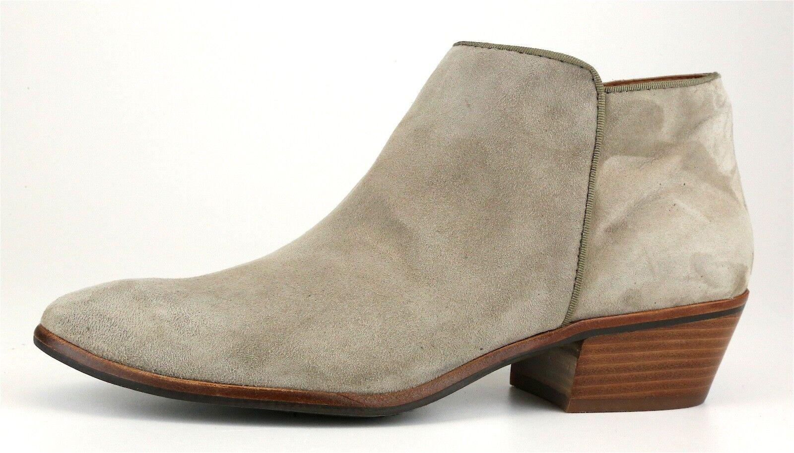 Sam Edelman Petty Chelsea botas De Gamuza Gamuza Gamuza gris Para Mujer Talla 10 M 5463  entrega rápida
