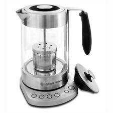 Russell Hobbs Tea Maker Electric Kettle Cordless Hot Pot Silver 1.7L RH-S0816TM