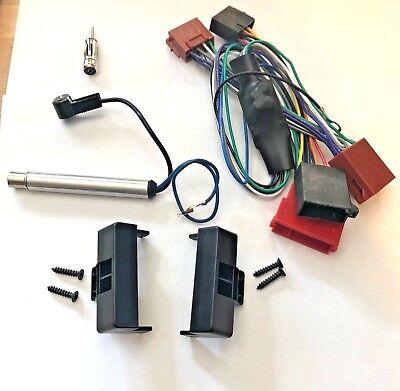 Radio diafragma set para audi a3 8l a6 c5 4b SEAT Toledo Leon activamente sistema adaptador ISO