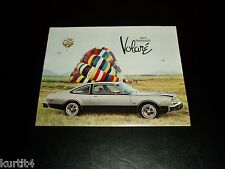 1977 Plymouth Volare Premier Road Runner sales brochure dealer literature