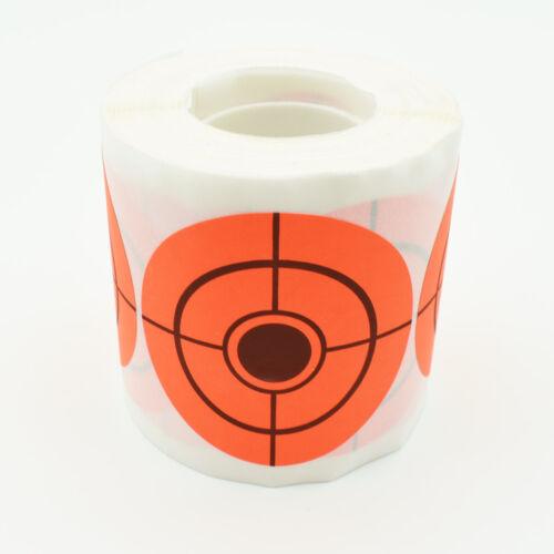 2/'/'//3/'/' Shooting Target Bullseye Self-adhesive Stickers For Shooting Exercises