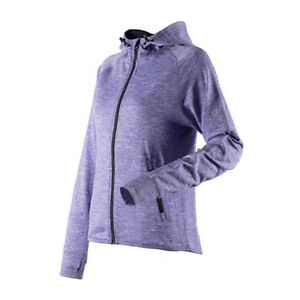 ab4ddf2f9 Image is loading Womens-Running-Hoodie-Reflective-Hooded-Long-Sleeve-Top-