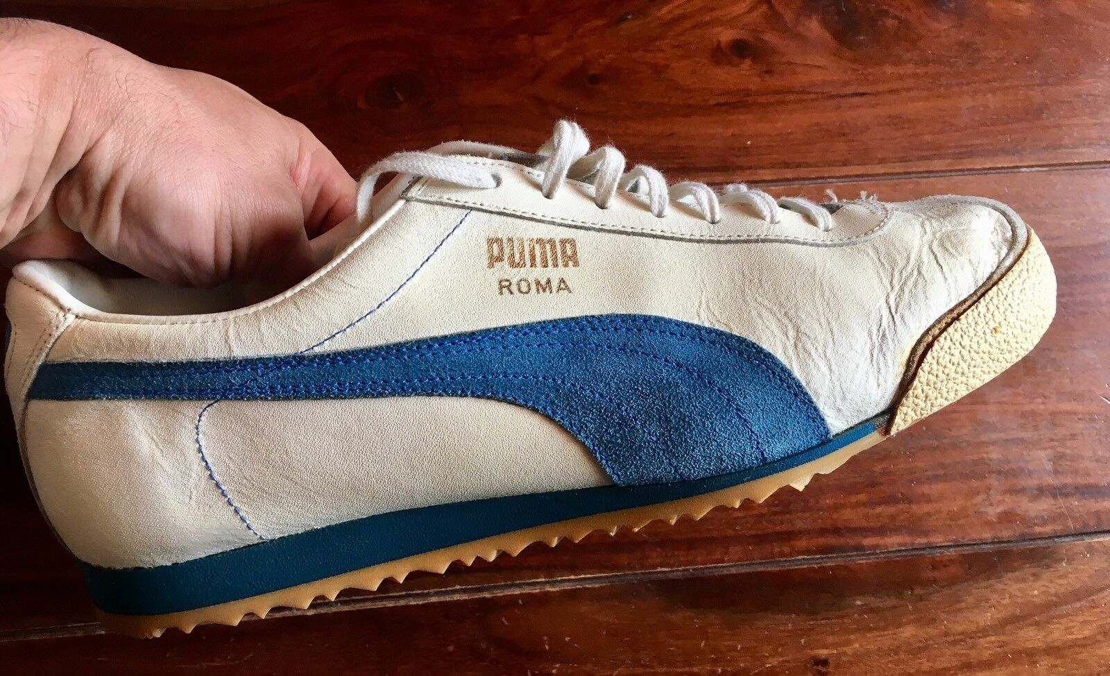 Vintage PUMA ROMA Germany - Made In West Germany ROMA Neu / New 74a327