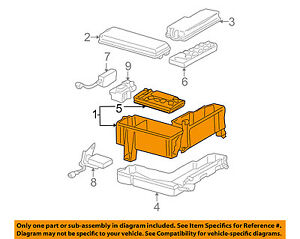 05 sequoia fuse diagram 2008 toyota sequoia fuse diagram toyota oem 05-07 sequoia-electrical fuse & relay box ... #1