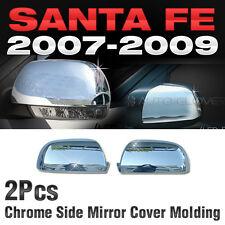 Chrome Side Mirror Cover Molding Lr Kit For Hyundai 2006 2012 Santa Fe Fits 2009 Hyundai Santa Fe