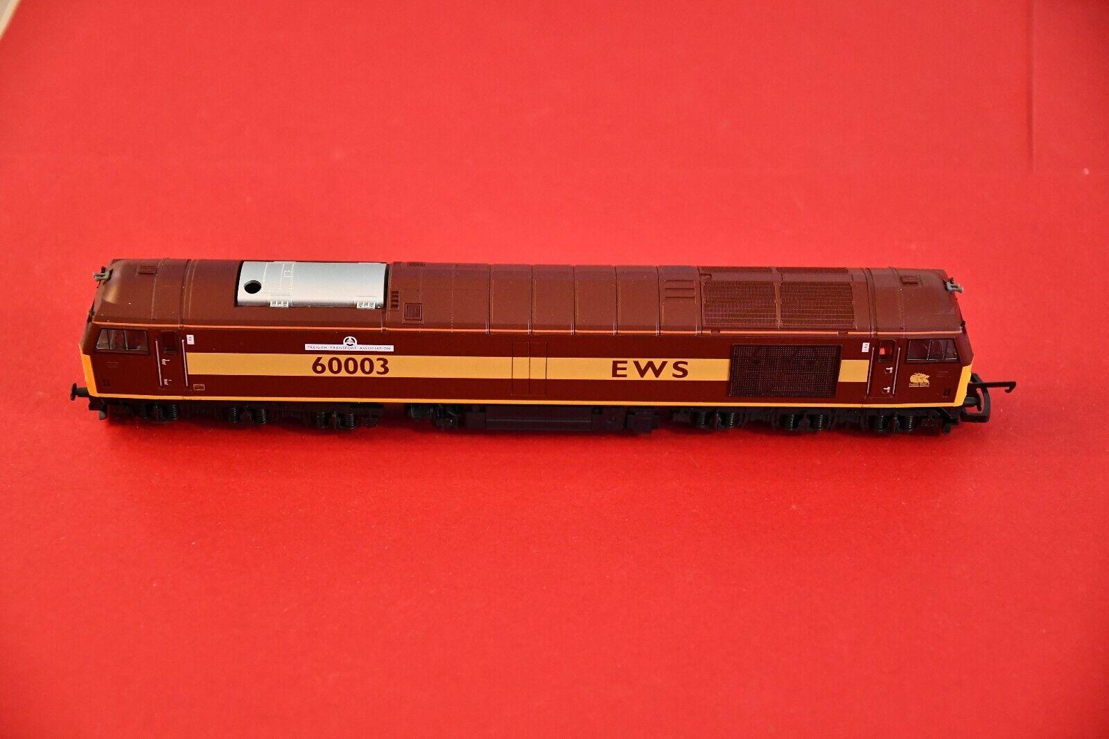 Lima Locomotive H0-no 94-LIMA Class 60 003 EWS Freight Transport Association
