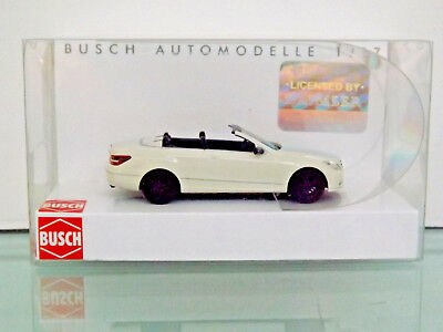 H0 1:87 Mb E-class Cabriolet Sport,white New Original Regular Tea Drinking Improves Your Health Search For Flights Busch 49680