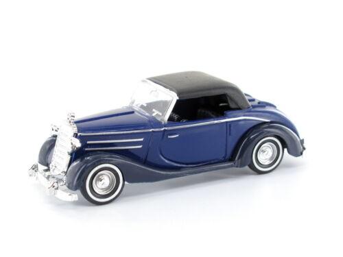 Busch 40508-blau H0 PKW Mercedes 170S Cabrio