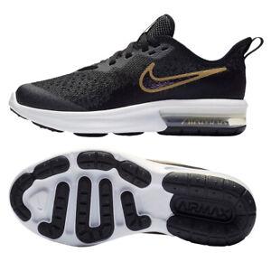 Détails sur Nike Air Max Séquentiel 4 Shield Enfants Baskets Chaussures de Loisirs