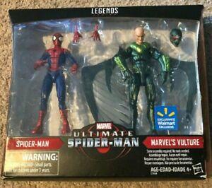 Marvel Legends SPIDER-MAN and VULTURE action figure 2-pack Walmart Exclusive!