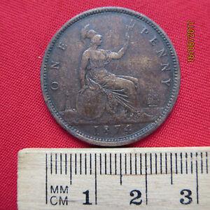 La Grande-bretagne-great Britain One 1 Penny 1860-1949 - Différentes Années-afficher Le Titre D'origine Yhluxldc-07225943-781885316