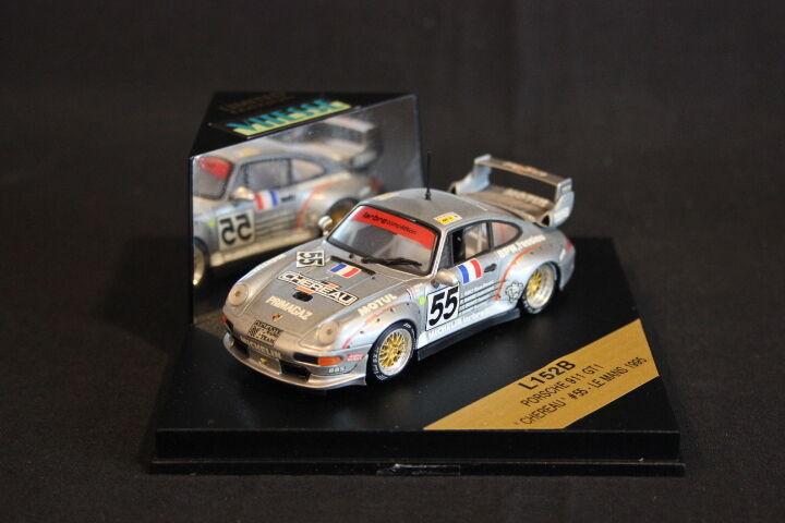 Vitesse Porsche 911 GT2 1995 1:43  55 Chéreau / Yver / Leconte LM  HB