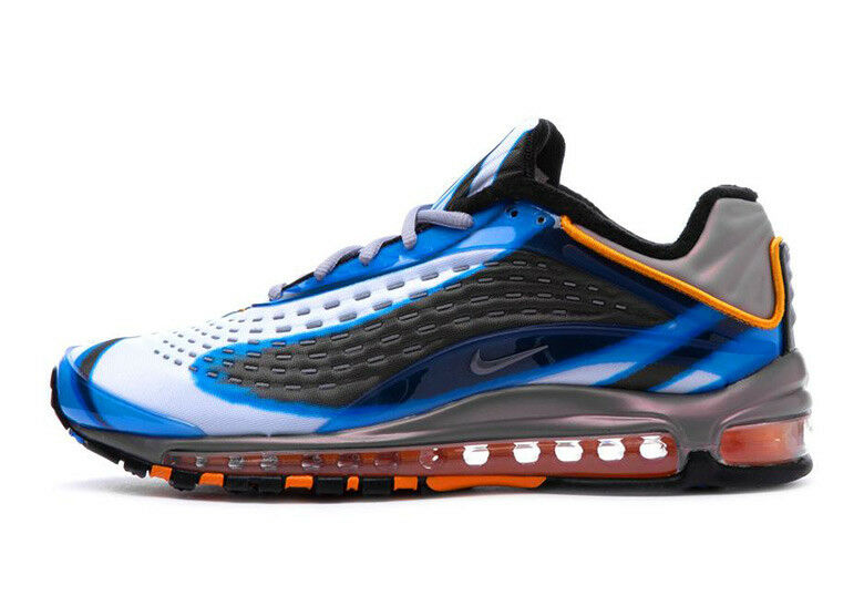 Nike Men's AIR MAX DELUXE PHOTO BLUE Shoes AJ7831-401 c