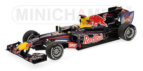 1 18 Minichamps rouge Bull Renault RB6 Sebastian VETTEL BRAZILIAN GP 2010