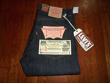 LEVIS VINTAGE CLOTHING 505-0217 LVC 1967 SELVEDGE SANFORIZED BIG E JEANS (34x36)