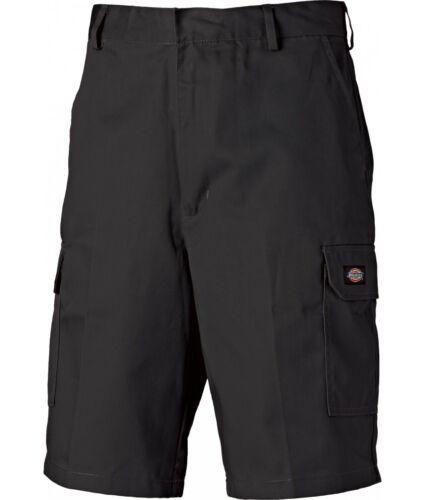"46/"" Waist Dickies Redhawk WD834 Cargo Work Skate Action Mens Shorts Black 30/"""