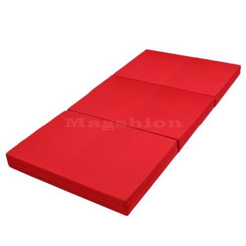 4 Quot Inches Trifold Tri Folding Foam Bed Floor Foam Ottoman
