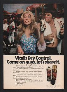 Details about 1973 PETE ROSE - Major League Baseball Best Hitter -VITALIS  Hairspray VINTAGE AD