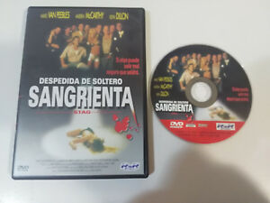 DESPEDIDA DE SOLTERO SANGRIENTA STAG DVD + EXTRAS CASTELLANO ENGLISH TERROR