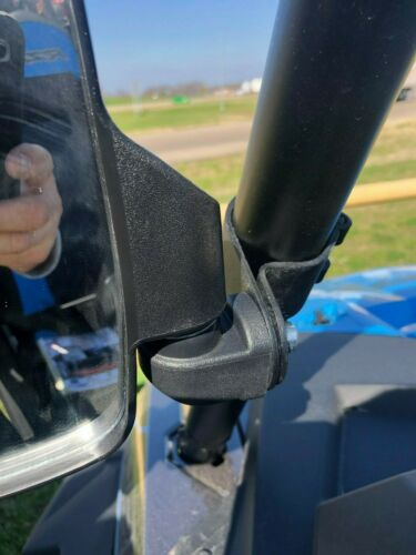 "Side View HD Sport Breakaway Mirrors Pair for Can Am Commander  2.01/"" RND ROLL"