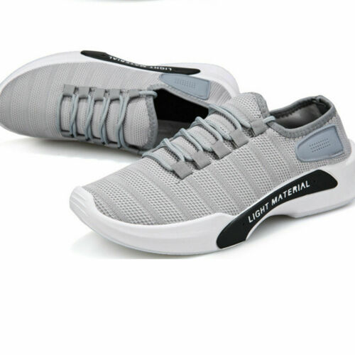 Mens Womens Trainers Shoes Running Sports Gym Casual Mesh Fabric Size 7.5 UK