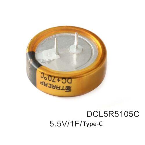 Farad//Super Capacitors 5.5V 1F DCL5R5105 Type-C Type-H Type-V