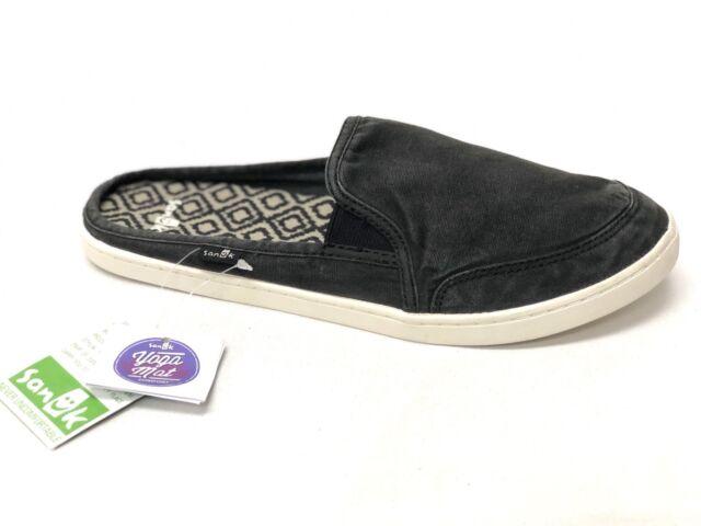 Sanuk DREE ME CRUISER Womens Sidewalk Surfer Slip-On Shoes Natural Slides Sizes