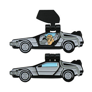 Details about Delorean enamel pin- back to the future, mcfly, time machine,  80's, car