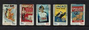 AUSTRALIA-DECIMAL-STAMPS-2014-NOSTALGIC-ADVERTISEMENTS-SET-OF-5