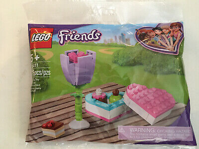 Lego ® 30411 Friends Box of Chocolates and Flower Polybag MOTHERS DAY BRAND NEW