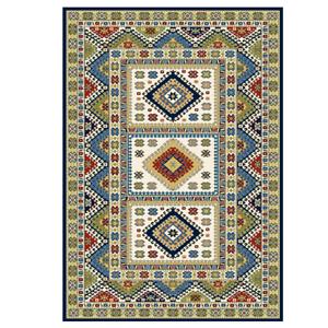 Alfombra Carpet vintage retro sala de estar 200 x 300, 230 x 340 & 300 x 400 crema a
