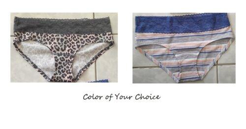 Size S Cotton /& Elastane Victoria Secret Low Rise Hiphugger Panties