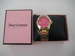 718ed9d4be2 Juicy Couture 1901050 Women s Stella Gold-Tone Stainless Steel ...