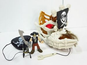 Fisher-Price-Imaginext-Shark-Pirates-Billy-Bones-Boat-Skeleton-Ship