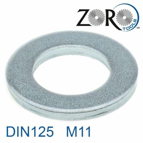 Unterlegscheiben M11 Stahl verzinkt DIN125-1A 150 Stk 38130110001