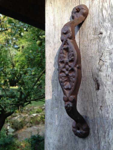 poignée de porte ou Granges Poignée de porte plante en fonte