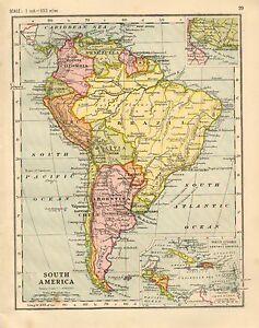 Peru Mapa Sudamerica