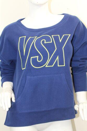 Victoria/'s Secret  Women/'s VXS Sport Soft Fleece Sweatshirt Color Blue NWT