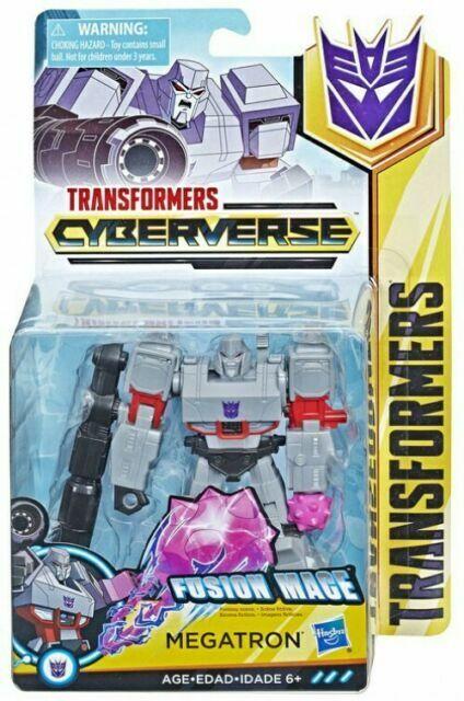 Transformers Cyberverse Warrior Class Megatron Action Figure New