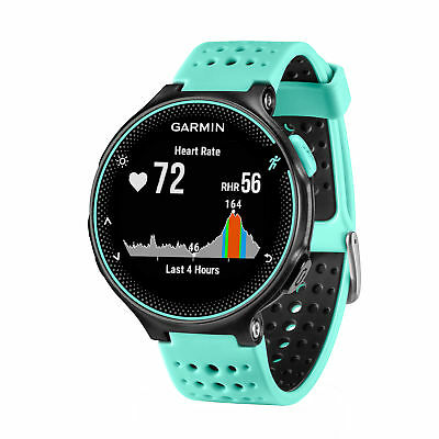 Garmin Forerunner 235 GPS Running Watch & Activity Tracker Frost Blue