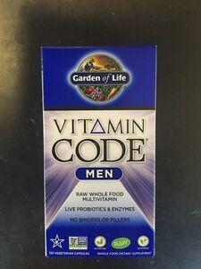 Garden of life vitamin code men 120 capsules whole food - Garden of life multivitamin for men ...